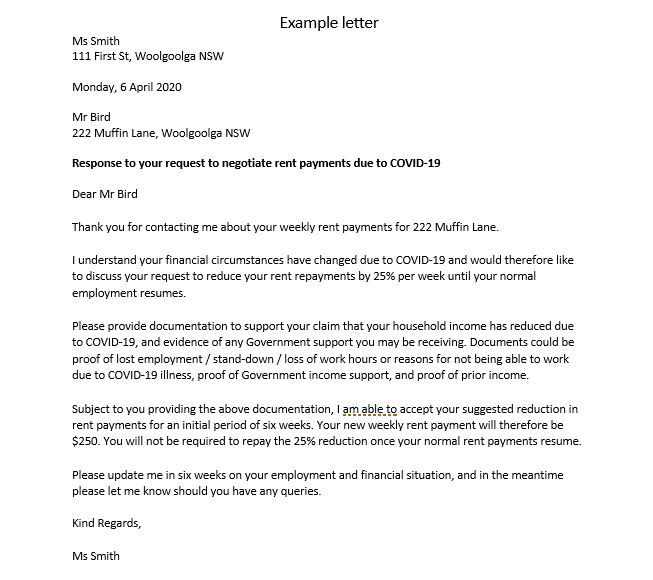 Polite Letter To Decline Tenant from www.savings.com.au