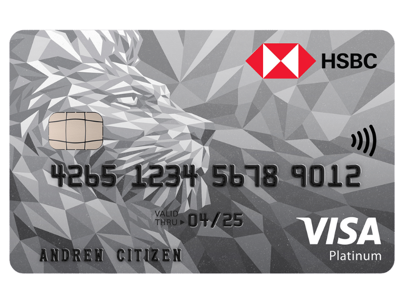 hsbc platinum credit card logo